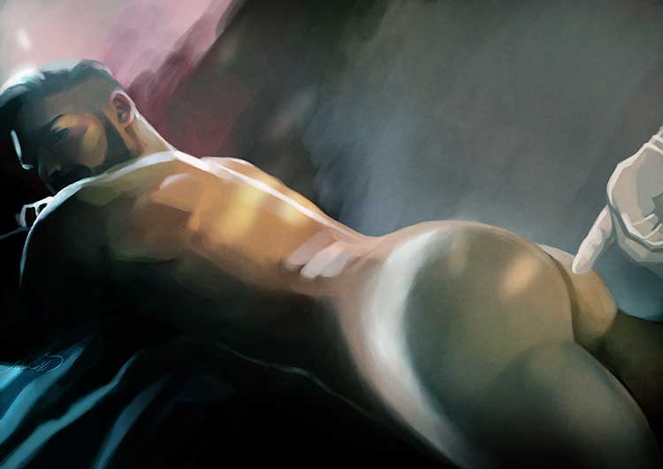 prostaat stimulatie massage