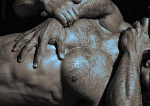aanraking mannen